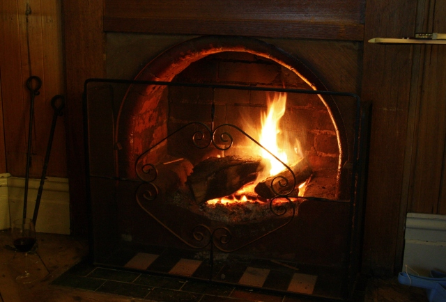 Cosy Open Fire