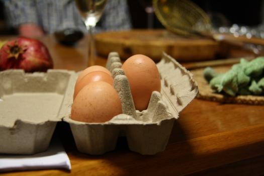 Egg massive