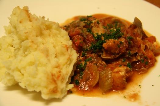 Chicken Cacciatori...ish