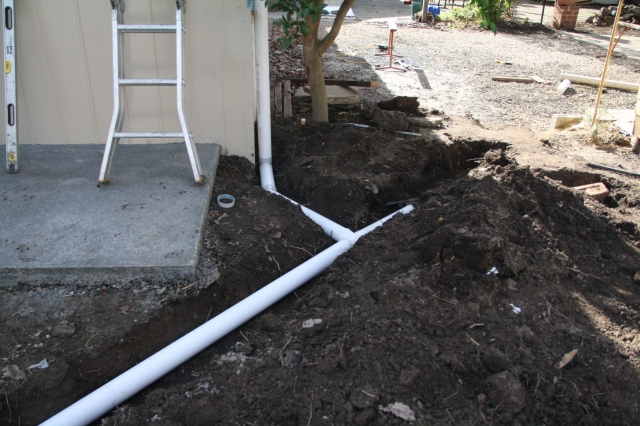 Storm water in place