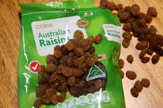 Raisins that aren't