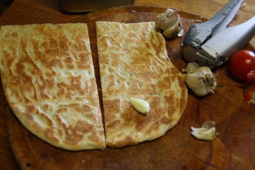 Toasted turkish bread