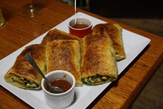 Kale, Potato and Feta rolls