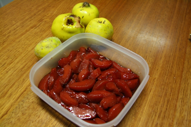 Slow Roasted Quince