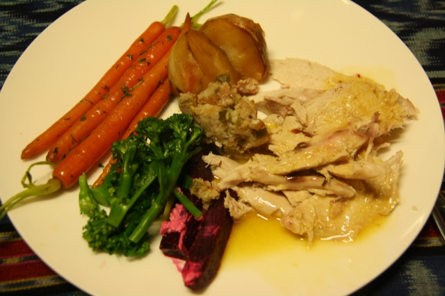 Roast chicken slow cooker