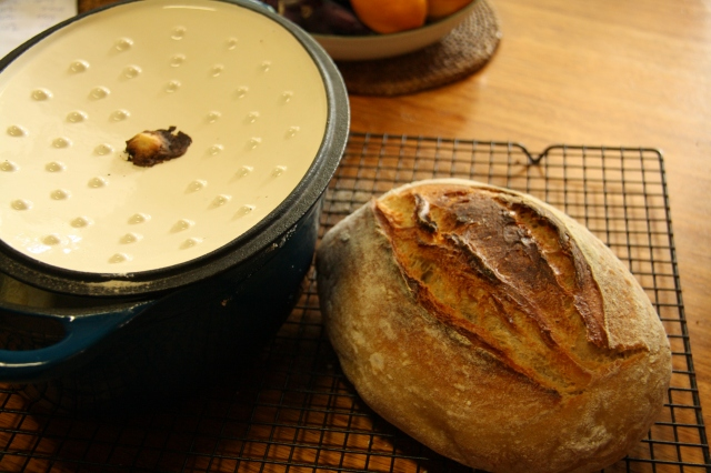 Dough plug Dutch Oven