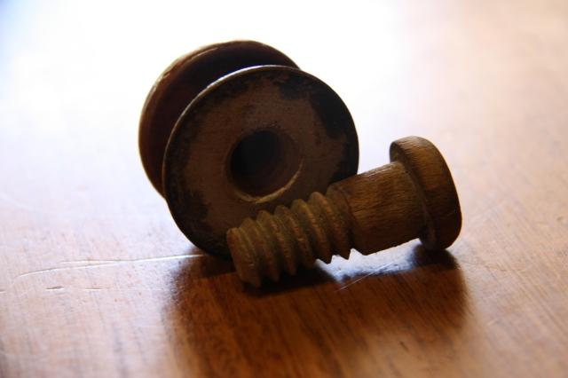 Wooden door screws