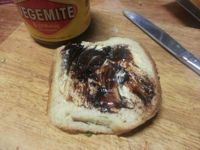 Vegemite bread