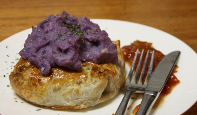 Purple Mashed Potato
