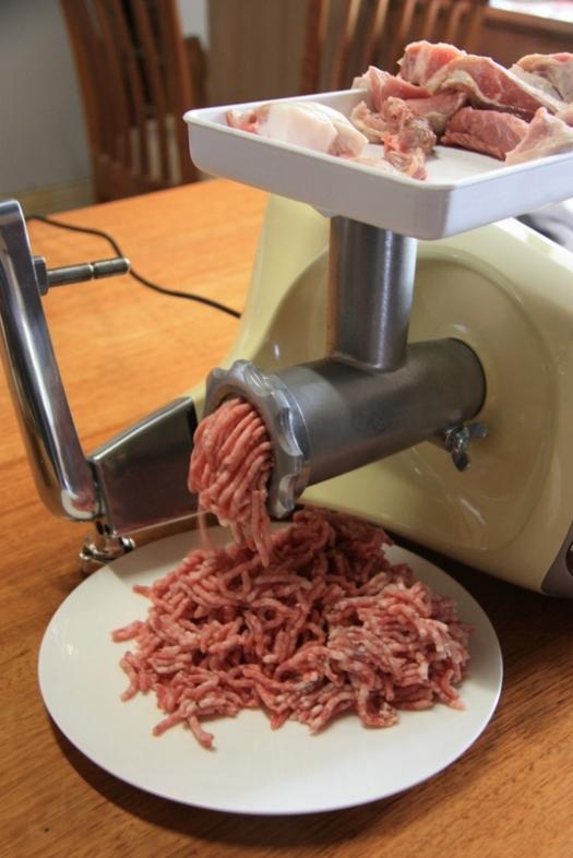 Ankarsrum meat mincer or grinder