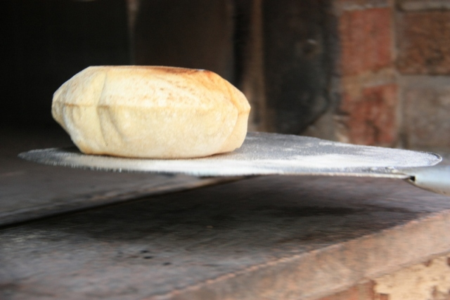 sourdough pitta.