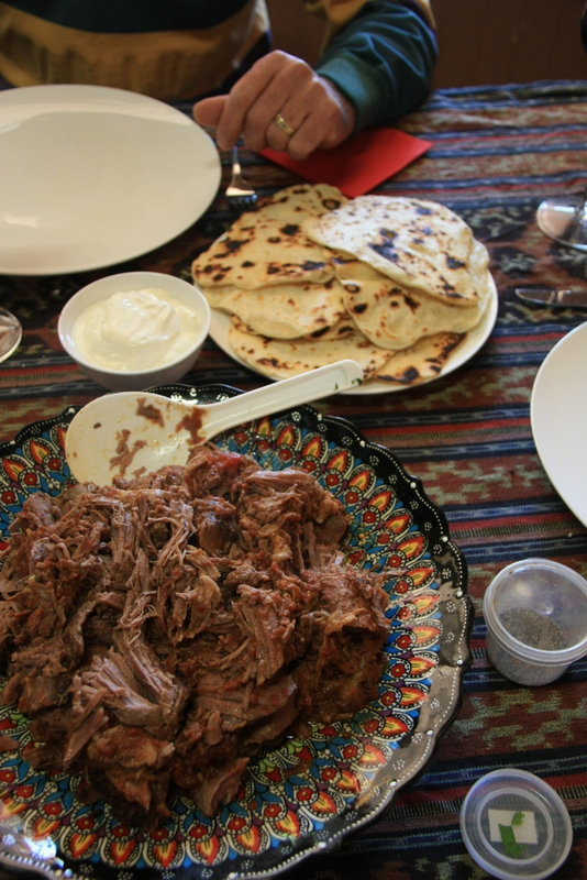 Moroccan lamb slow cooker