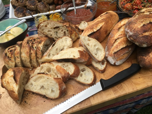 Sourdough bread sticks