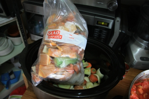 Slow cooker stock