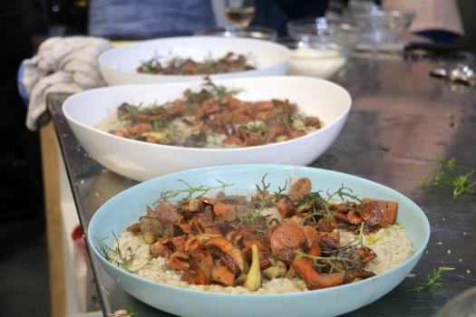 Muchroom risotto
