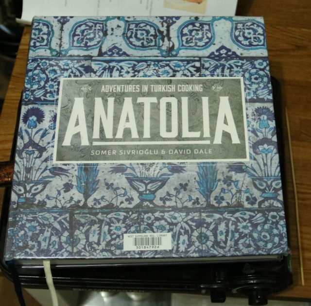 Anatolia Recipe Book