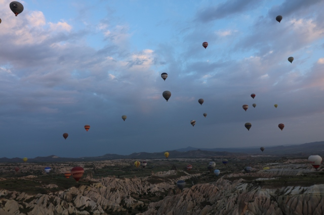 Capadoccia hot air balloon