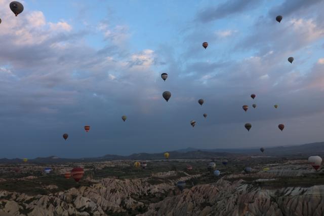 Capadoccia hot air balloon