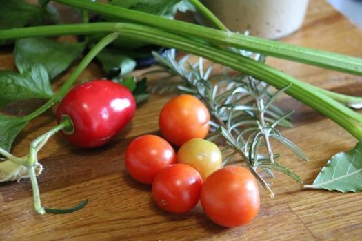 Last of tomatoes
