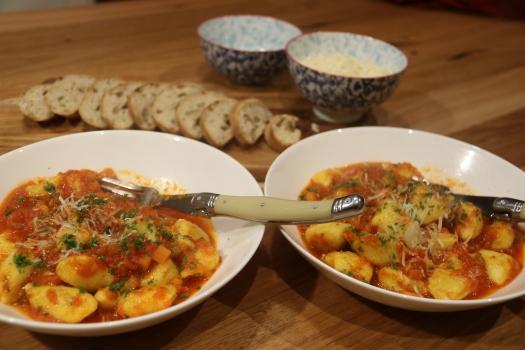 Gnocchi with Napoli Suace
