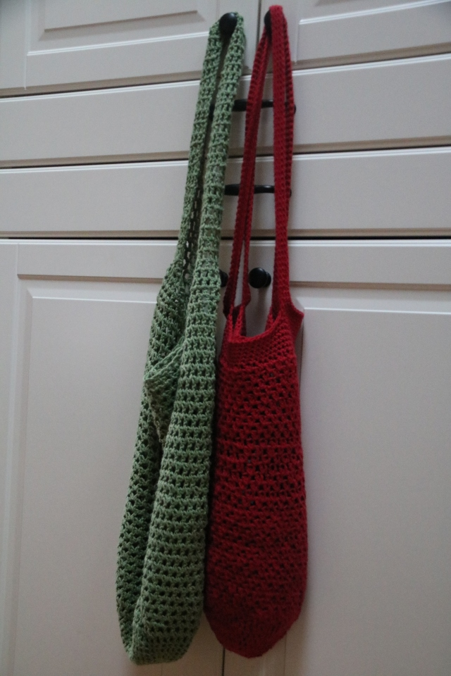 Market bags crocheted