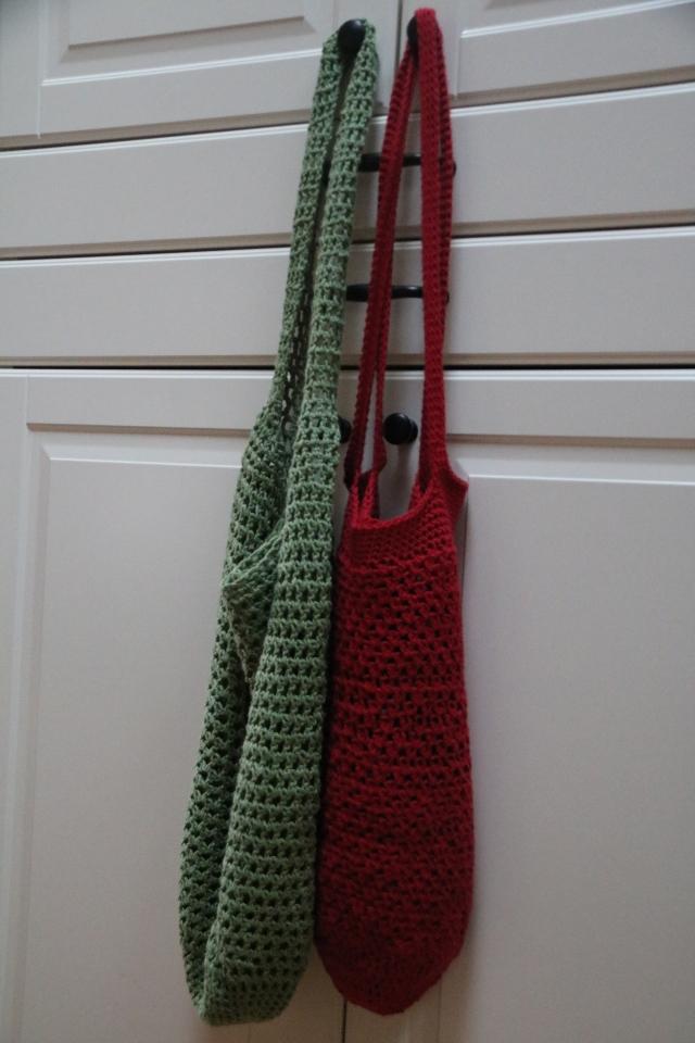 Market bags crocheted