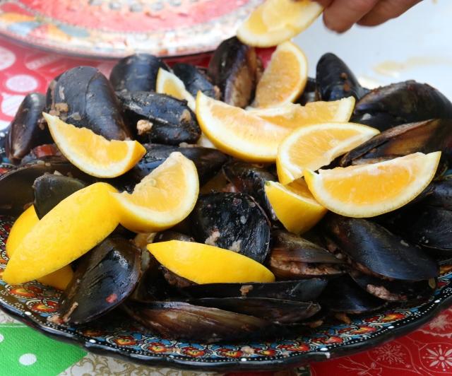 Midye dolma-Anatolian stuffed mussels