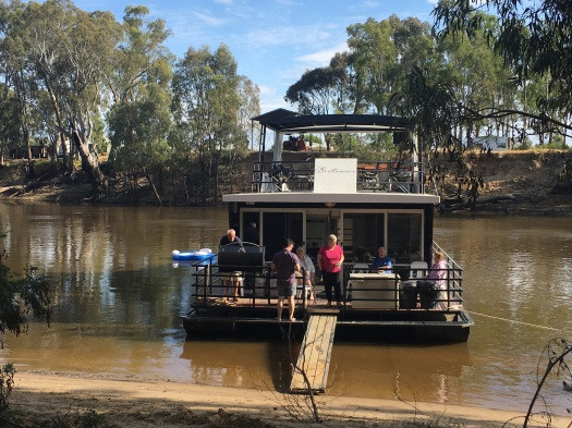 Brittania on The Murray